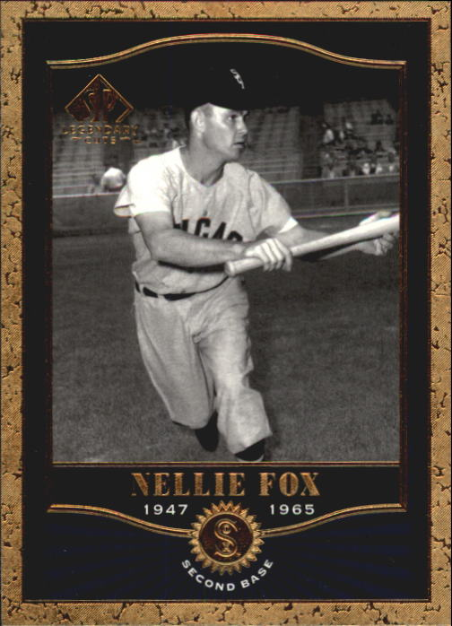 2001 SP Legendary Cuts #76 Nellie Fox