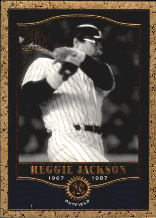 2001 SP Legendary Cuts #85 Reggie Jackson