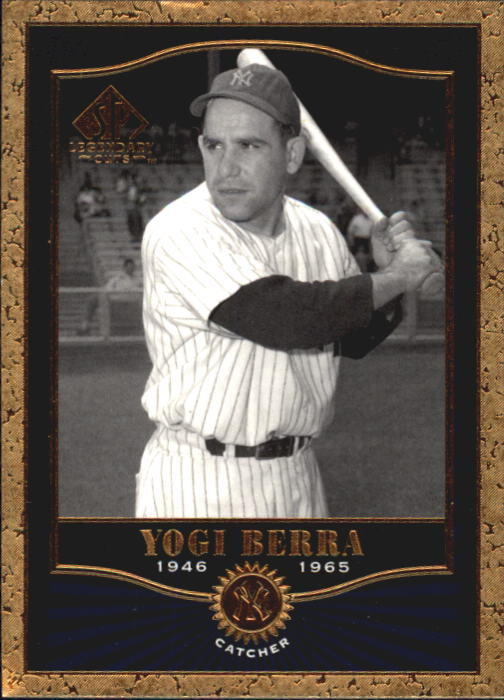 2001 SP Legendary Cuts #89 Yogi Berra
