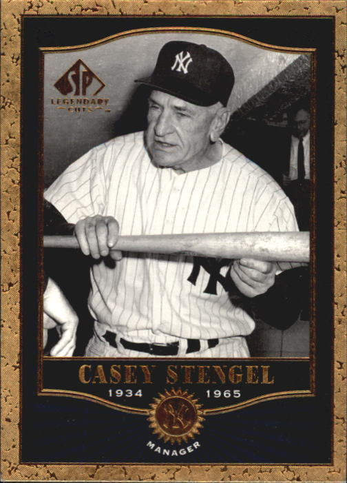 2001 SP Legendary Cuts #90 Casey Stengel