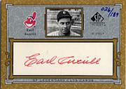 2001 SP Legendary Cuts Autographs #CEA Earl Averill/189