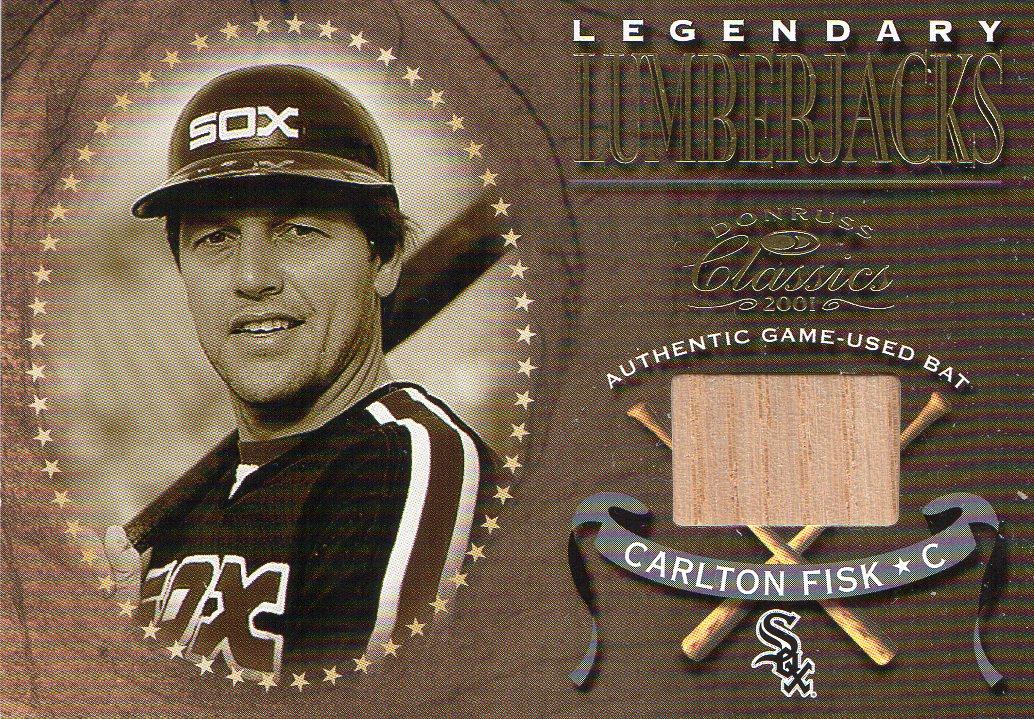 2001 Donruss Classics Legendary Lumberjacks #LL13 Carlton Fisk