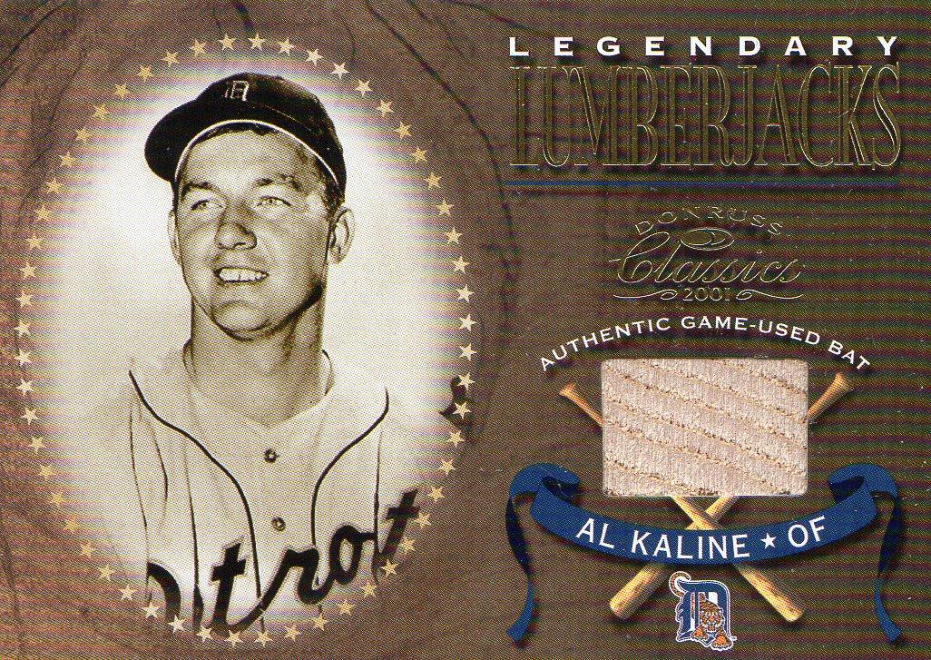 2001 Donruss Classics Legendary Lumberjacks #LL15 Al Kaline