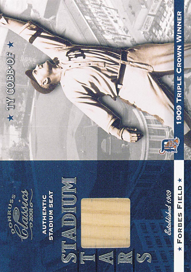2001 Donruss Classics Stadium Stars #SS5 Ty Cobb