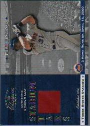 2001 Donruss Classics Stadium Stars #SS21 Mike Piazza SP