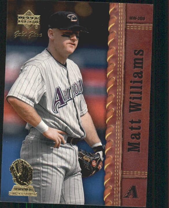 2001 Upper Deck Gold Glove #61 Matt Williams