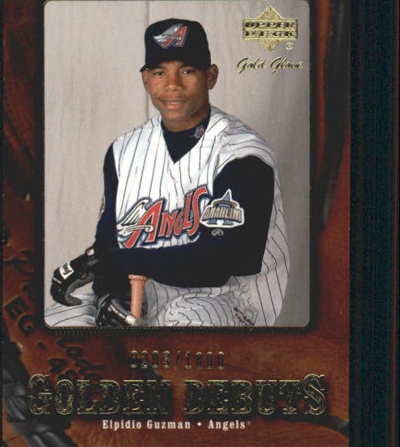 2001 Upper Deck Gold Glove #107 Elpidio Guzman GD RC