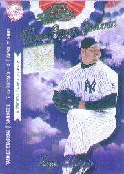 2001 Absolute Memorabilia Home Opener Souvenirs #OD31 Roger Clemens