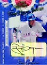 2001 Absolute Memorabilia Home Opener Souvenirs Autographs #OD16 Tony Gwynn