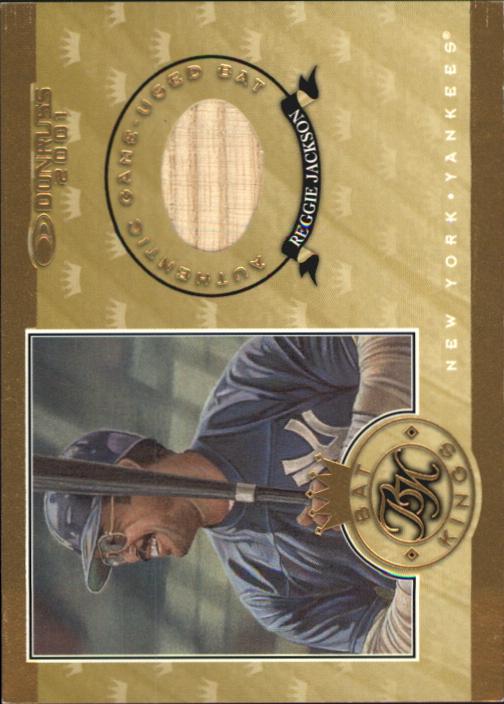 2001 Donruss Bat Kings #BK7 Reggie Jackson