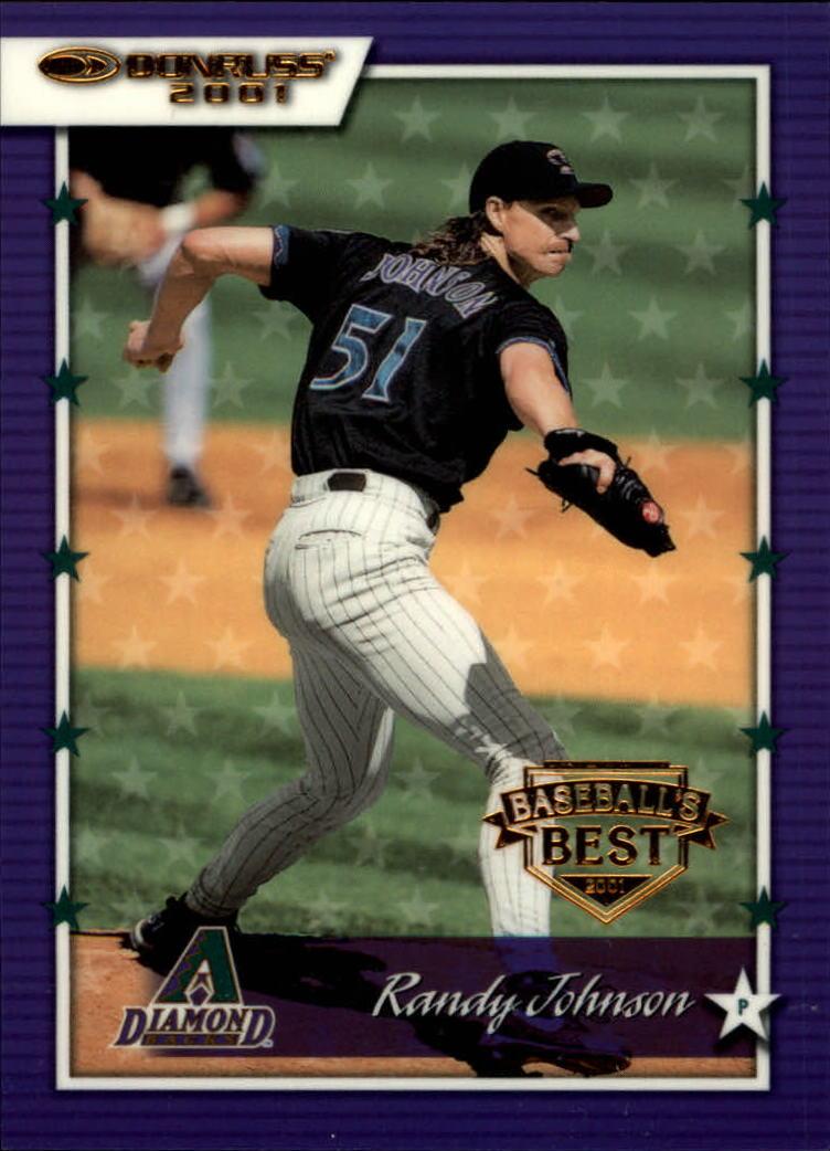 2001 Donruss Baseball's Best Bronze #19 Randy Johnson