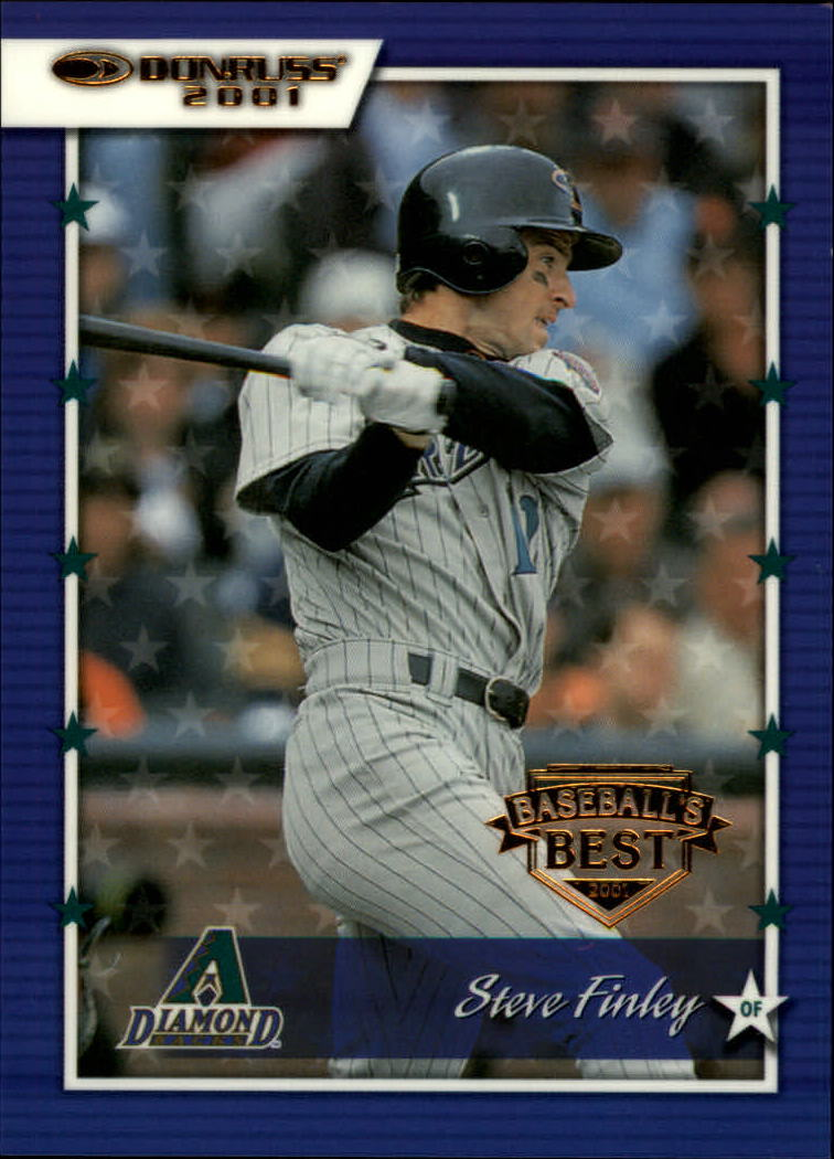 2001 Donruss Baseball's Best Bronze #92 Steve Finley
