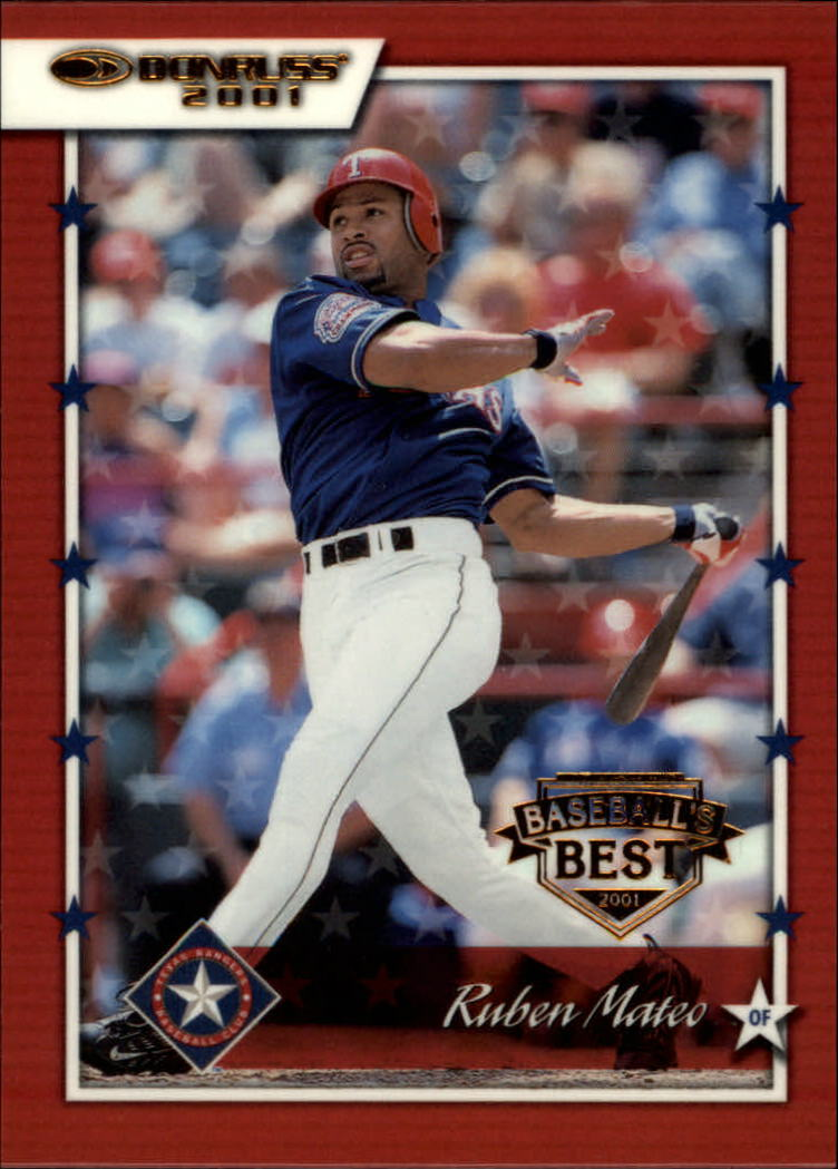 2001 Donruss Baseball's Best Bronze #117 Ruben Mateo