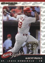 2001 Donruss Baseball's Best Bronze #156 Albert Pujols RR