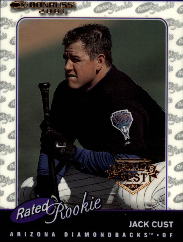 2001 Donruss Baseball's Best Bronze #158 Jack Cust RR