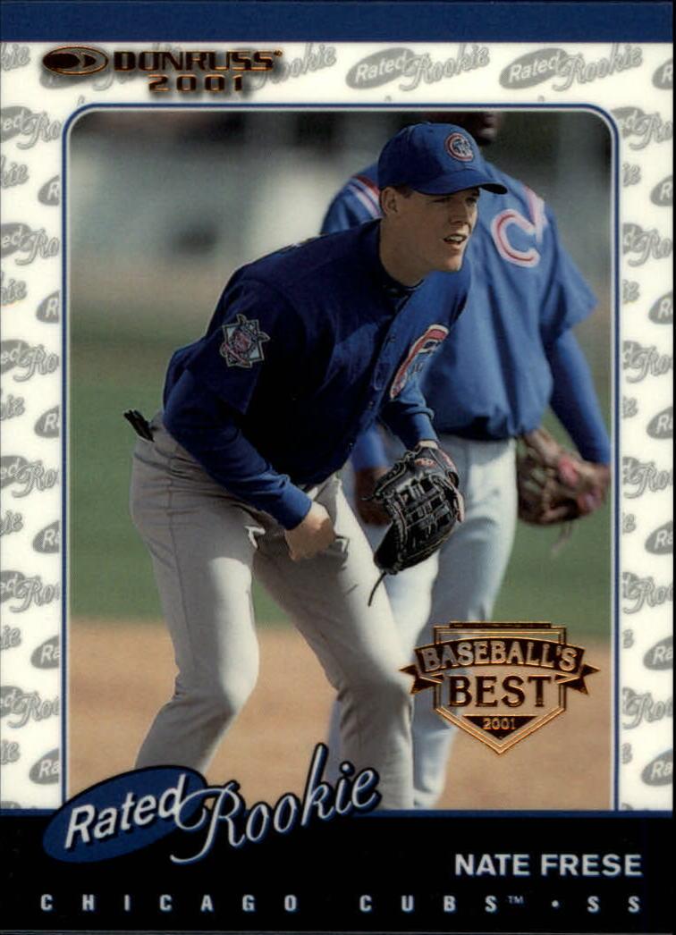 2001 Donruss Baseball's Best Bronze #163 Nate Frese RR