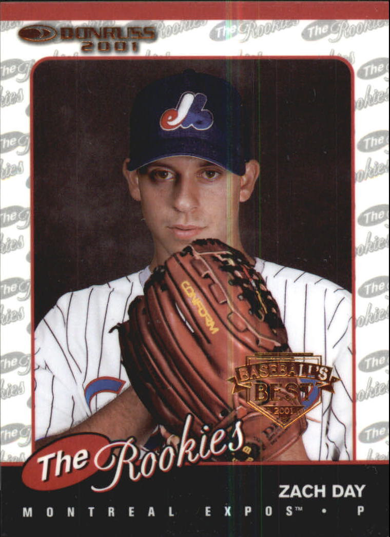 2001 Donruss Baseball's Best Bronze Rookies #R18 Zach Day