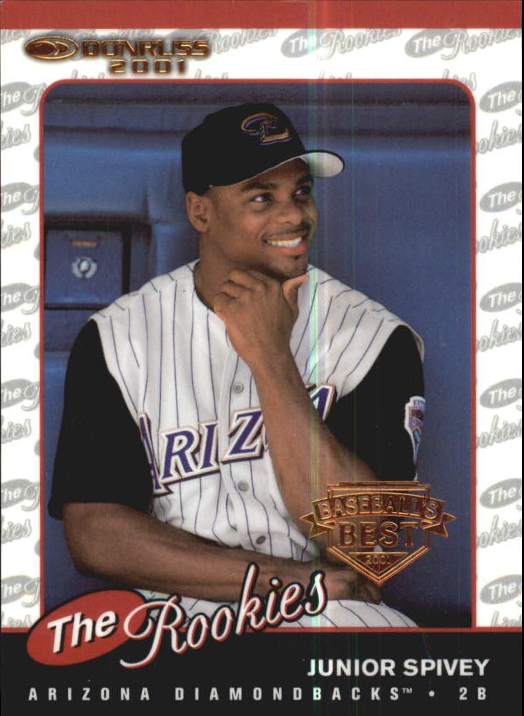 2001 Donruss Baseball's Best Bronze Rookies #R59 Junior Spivey