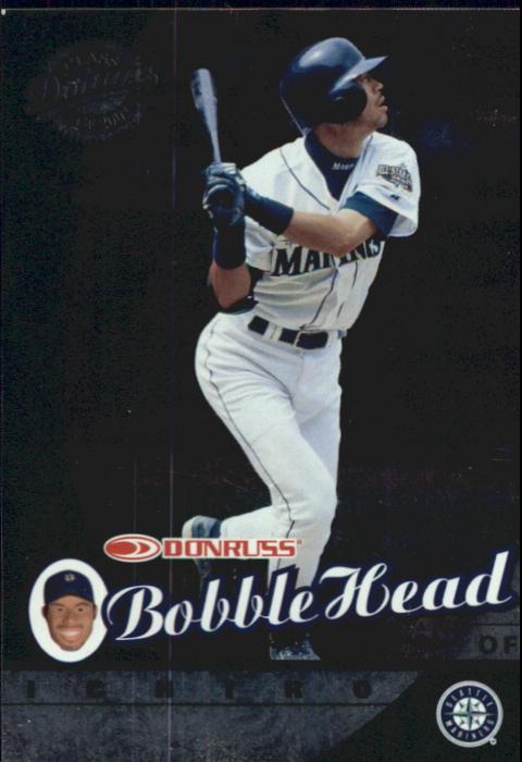 2001 Donruss Class of 2001 BobbleHead Cards #1 Ichiro Suzuki