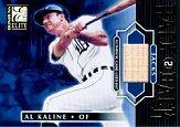 2001 Donruss Elite Back 2 Back Jacks #BB22 Al Kaline SP/50