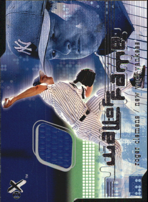 2001 E-X Wall of Fame #4 Roger Clemens