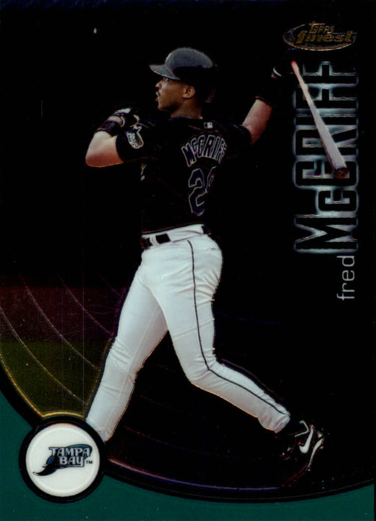 2001 Finest #4 Fred McGriff