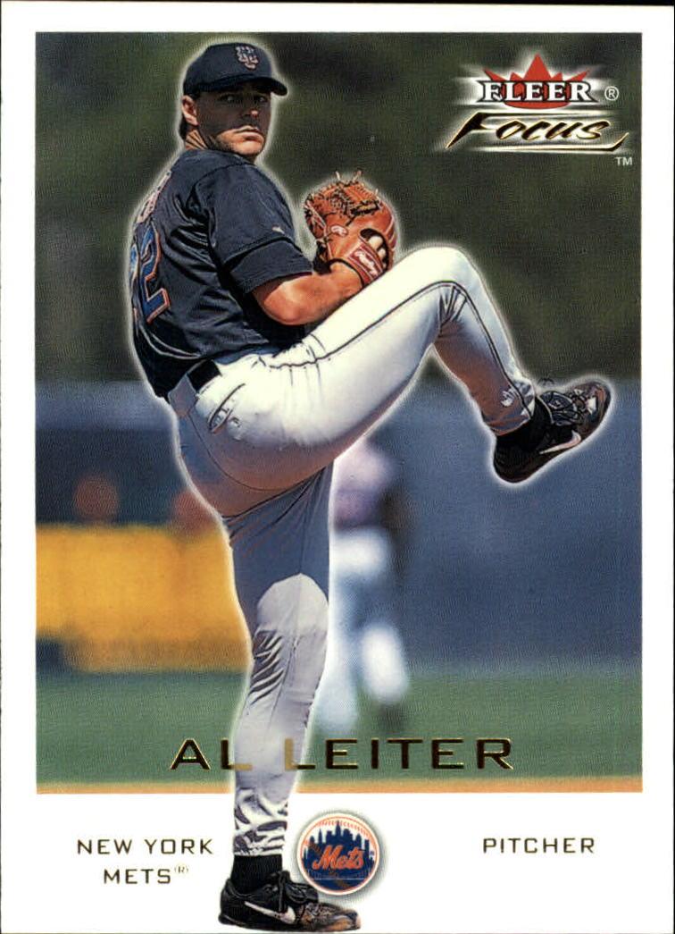 2001 Fleer Focus #16 Al Leiter