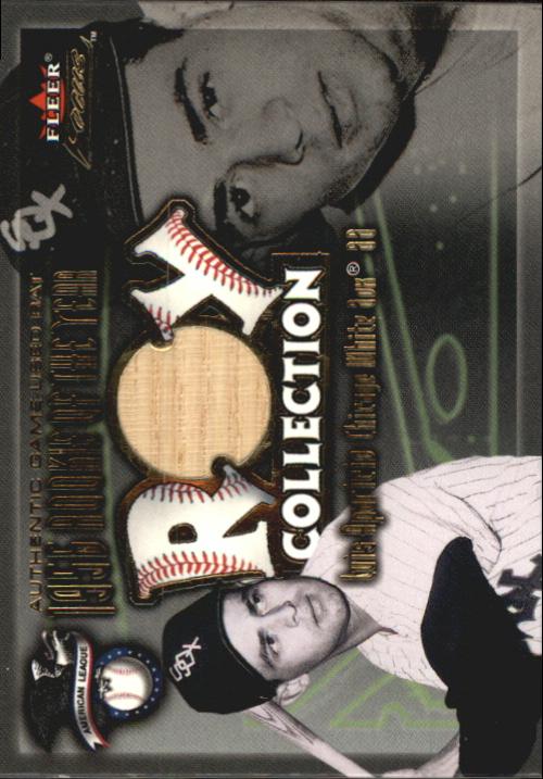 2001 Fleer Focus ROY Collection Memorabilia #ROY1 Luis Aparicio Bat