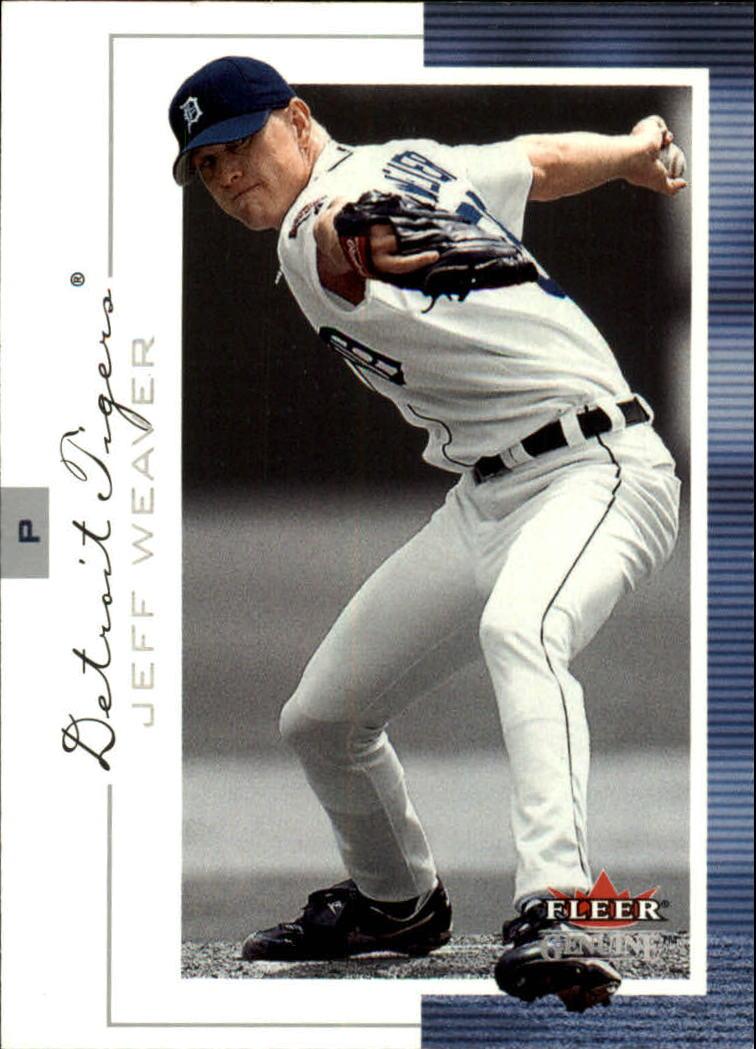 2001 Fleer Genuine #16 Jeff Weaver