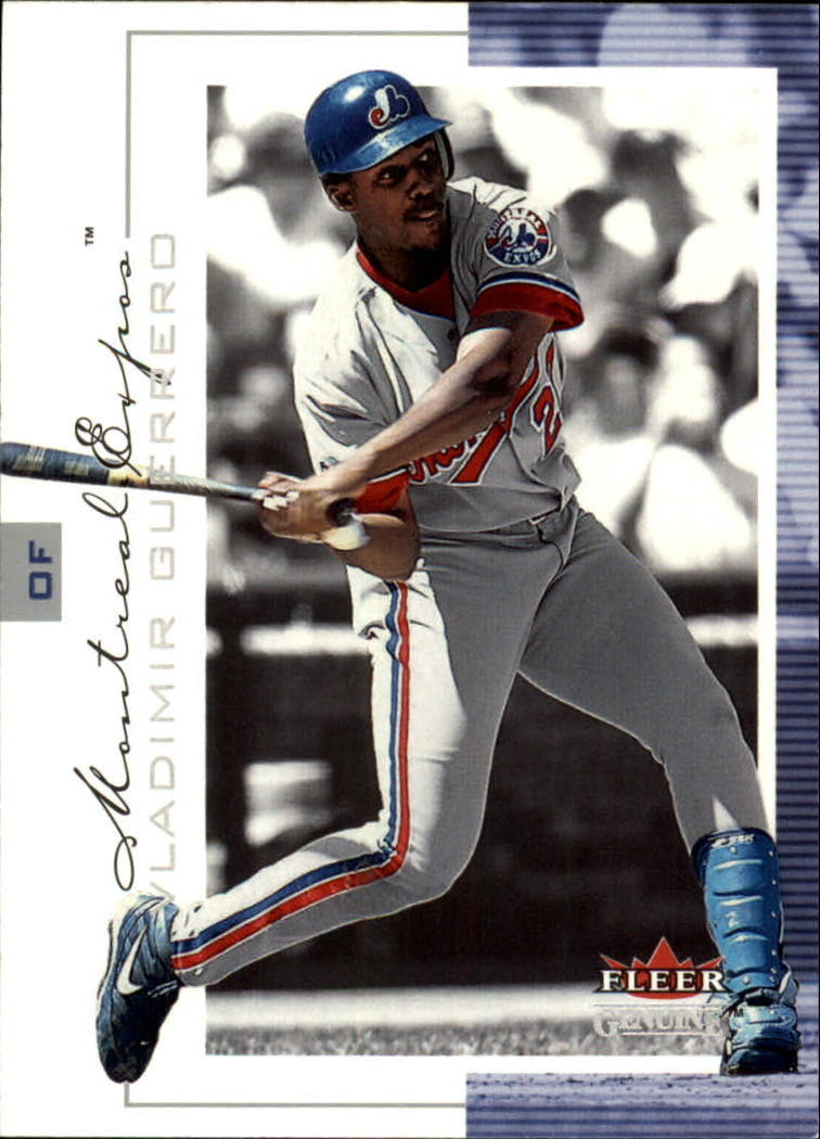 2001 Fleer Genuine #41 Vladimir Guerrero
