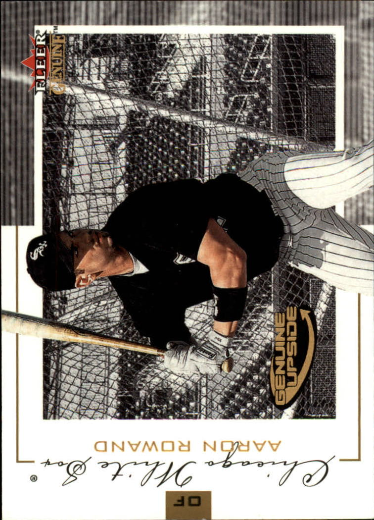 2001 Fleer Genuine #123 Aaron Rowand GU