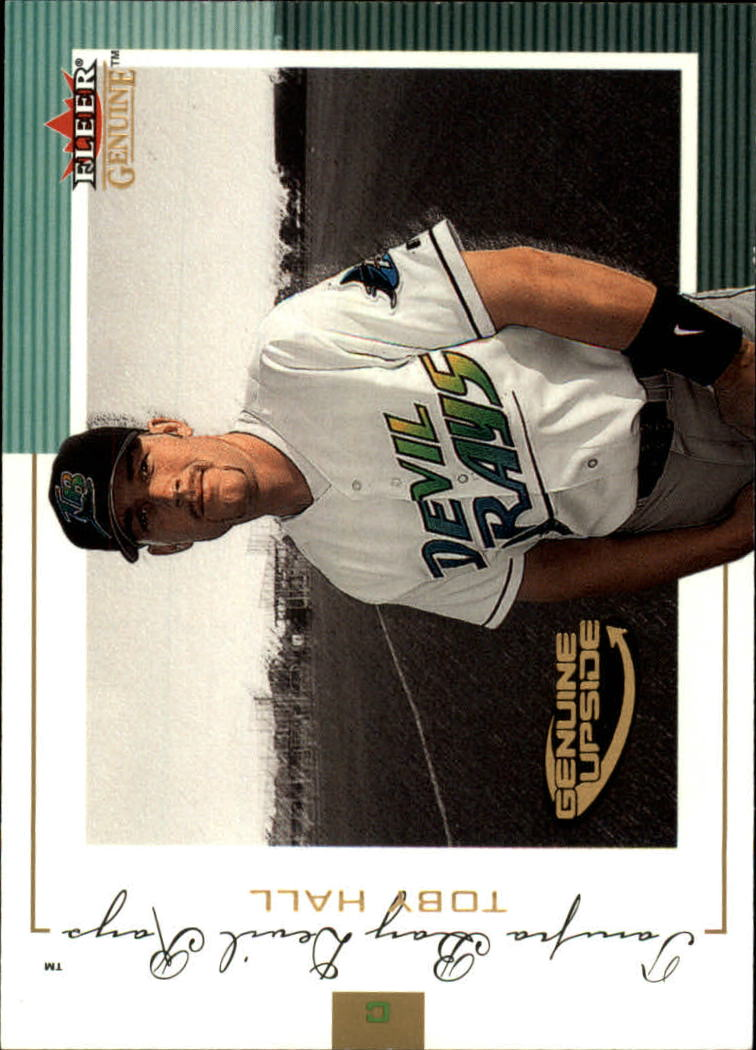 2001 Fleer Genuine #124 Toby Hall GU