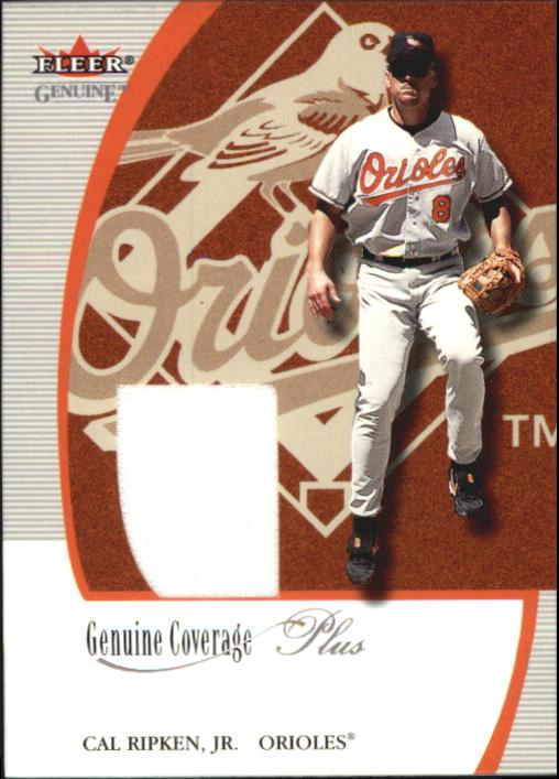 2001 Fleer Genuine Coverage Plus #9 Cal Ripken