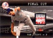 2001 Fleer Genuine Final Cut #8 Ron Guidry SP