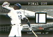 2001 Fleer Genuine Final Cut #9 Tony Gwynn