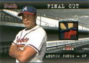 2001 Fleer Genuine Final Cut #11 Andruw Jones SP/135