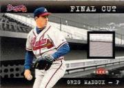 2001 Fleer Genuine Final Cut #14 Greg Maddux