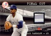 2001 Fleer Genuine Final Cut #16 Willie Randolph SP