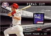 2001 Fleer Genuine Final Cut #21 Scott Rolen