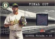 2001 Fleer Genuine Final Cut #23 Miguel Tejada SP/170