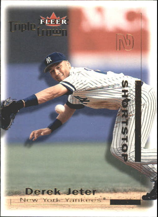 2001 Fleer Triple Crown #1 Derek Jeter