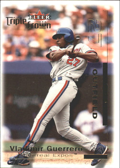 2001 Fleer Triple Crown #2 Vladimir Guerrero