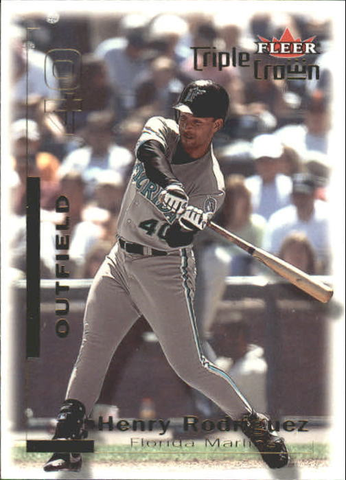 2001 Fleer Triple Crown #3 Henry Rodriguez
