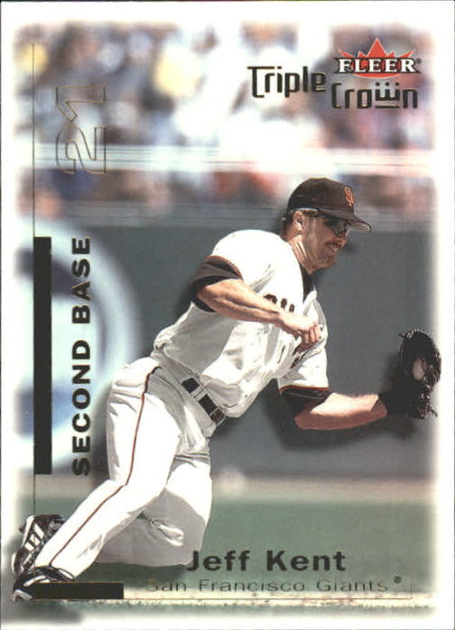 2001 Fleer Triple Crown #6 Jeff Kent