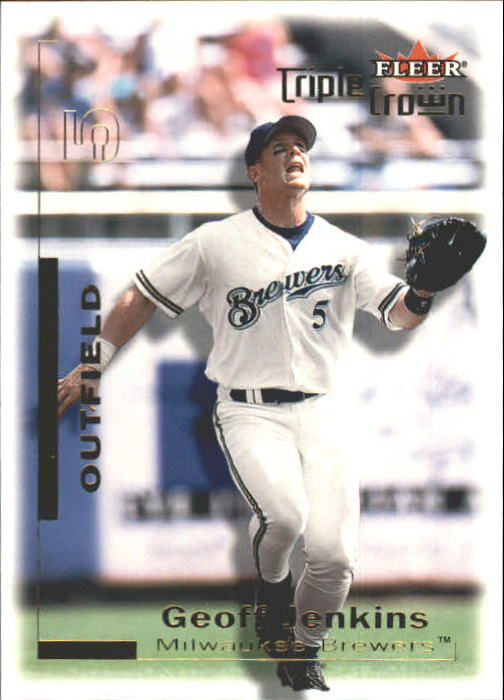2001 Fleer Triple Crown #12 Geoff Jenkins