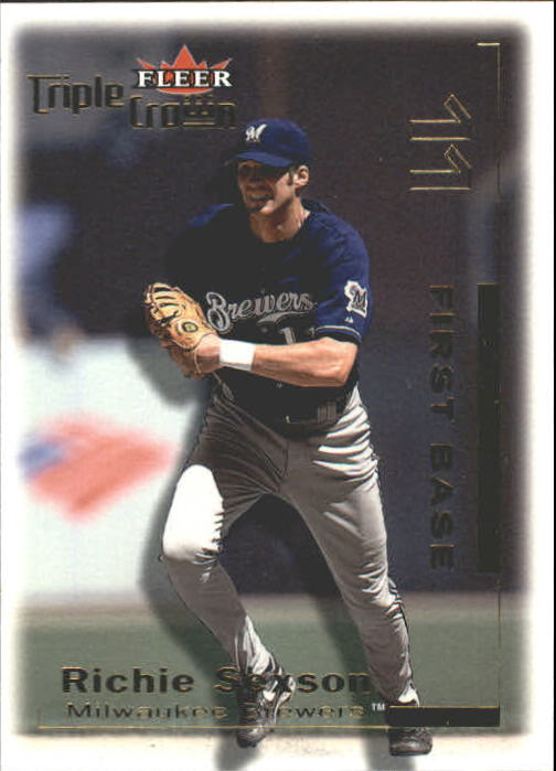 2001 Fleer Triple Crown #17 Richie Sexson