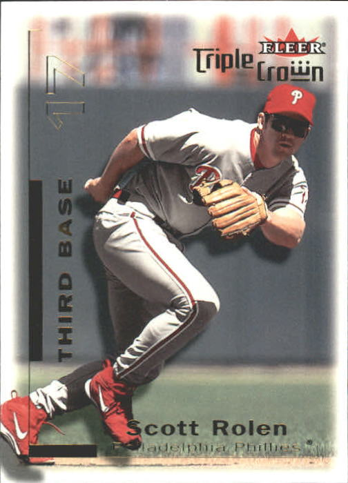 2001 Fleer Triple Crown #22 Scott Rolen