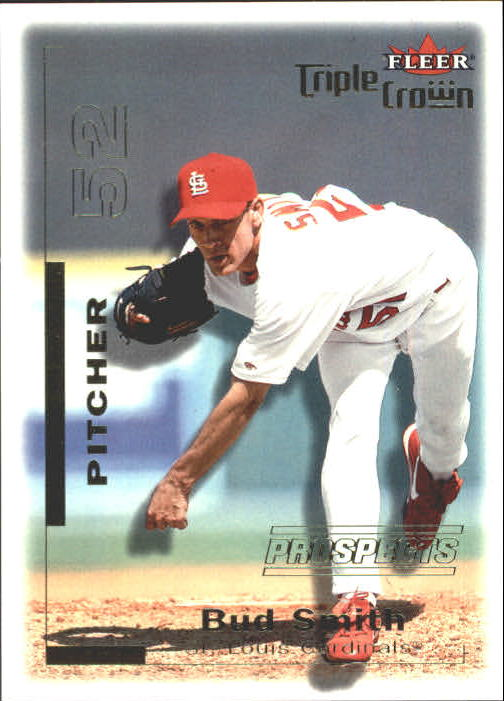 2001 Fleer Triple Crown #303 Bud Smith/2999 RC