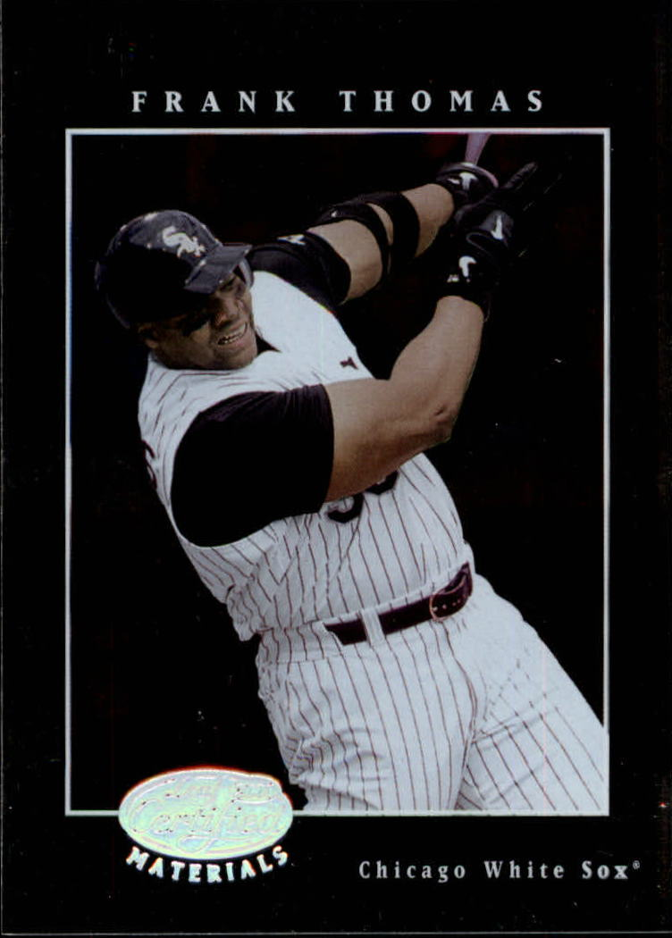 2001 Leaf Certified Materials #7 Frank Thomas