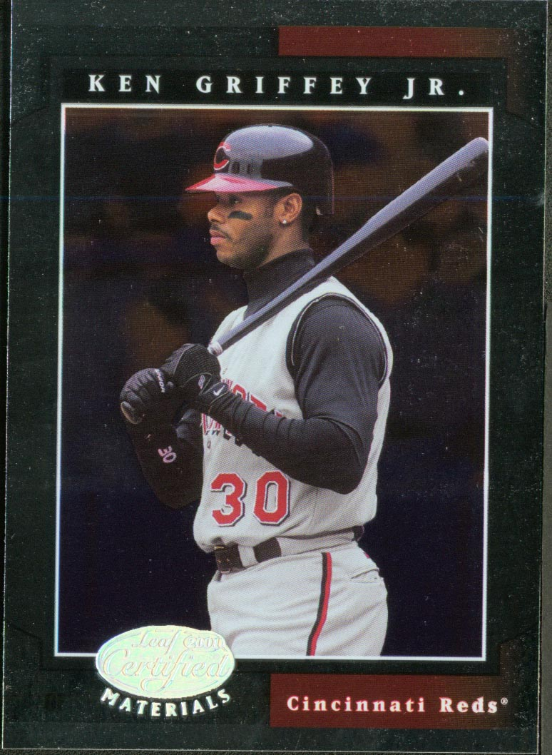 2001 Leaf Certified Materials #13 Ken Griffey Jr.